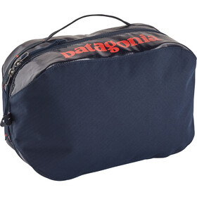Patagonia Black Hole Cube Toiletry Bag Large Navy Blue w/Paintbrush Red
